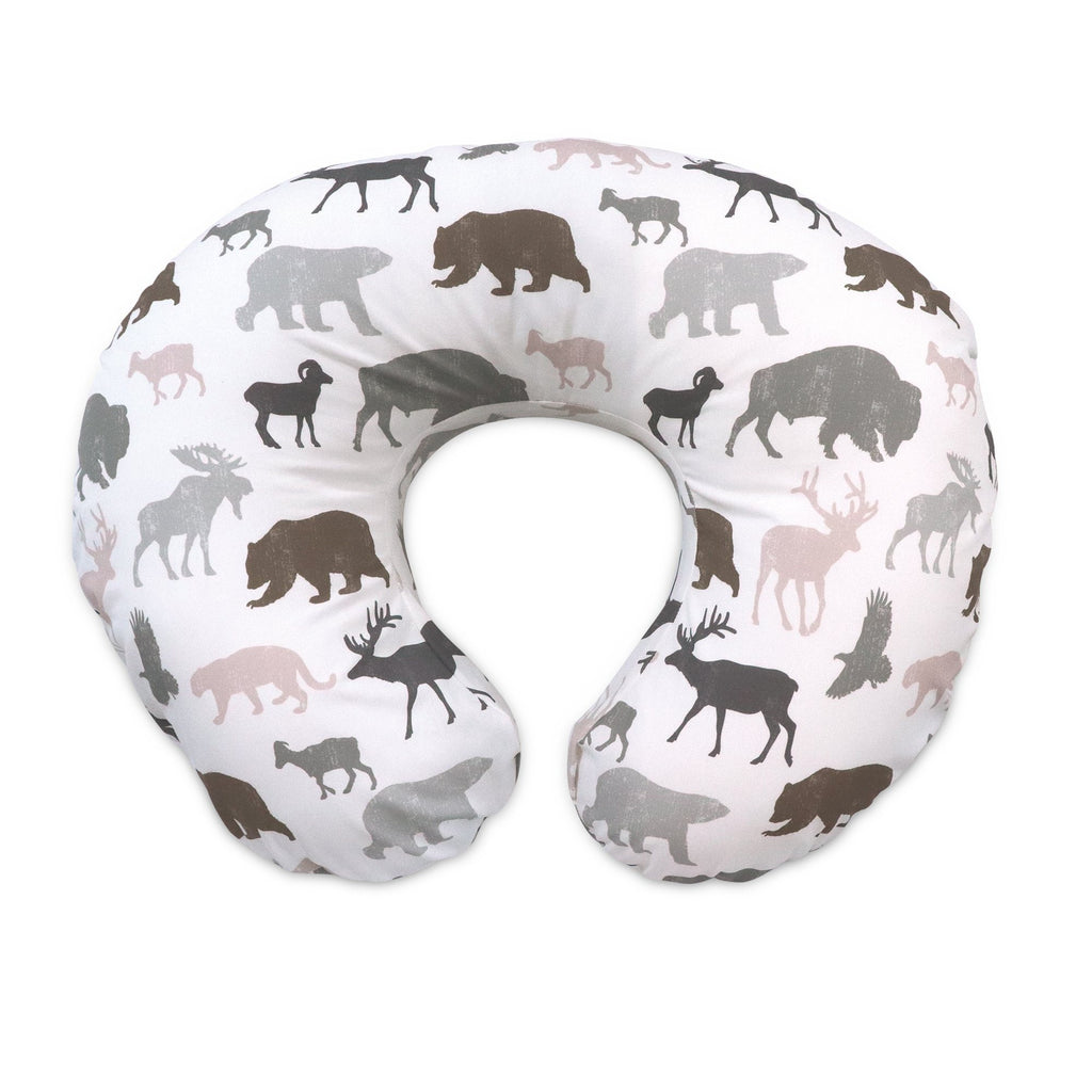 Boppy<sup>®</sup> Original Feeding & Infant Support Pillow - Neutral Wildlife