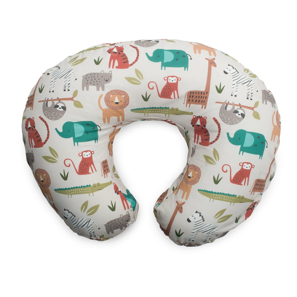 Boppy<sup>®</sup> Original Feeding & Infant Support Pillow - Neutral Jungle Colors