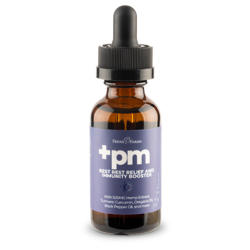+PM Best Rest Relief and Immunity Booster with CBD (formerly Ancient Medicines PM) CBD Oil with Turmeric, Terpenes, Essential Oils - Fresh Farms LLC