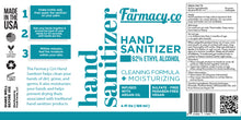 Load image into Gallery viewer, Moisturizing Hand Sanitizer Unscented 62% Ethyl Alcohol - Fresh Farms LLC