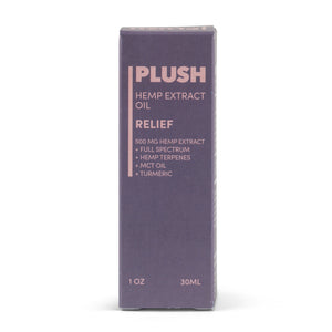 Plush RELIEF Specialized Full Spectrum CBD Oil Tincture 500MG - Fresh Farms LLC