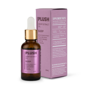 Plush SLEEP Specialized Full Spectrum CBD Oil Tincture 500MG - Fresh Farms LLC