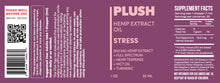 Load image into Gallery viewer, Plush STRESS Specialized Full Spectrum CBD Oil Tincture 500MG - Fresh Farms LLC