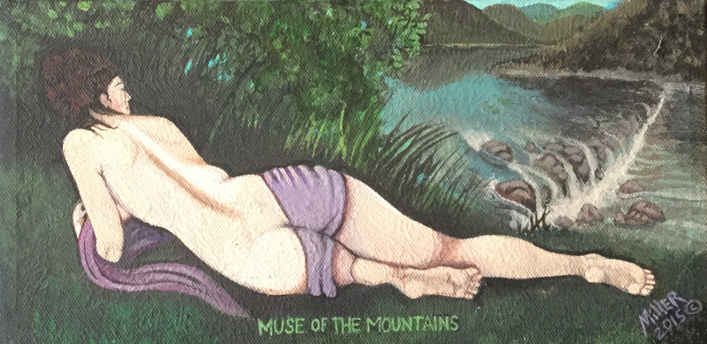 Muse Of The Mountians by Randal Miller