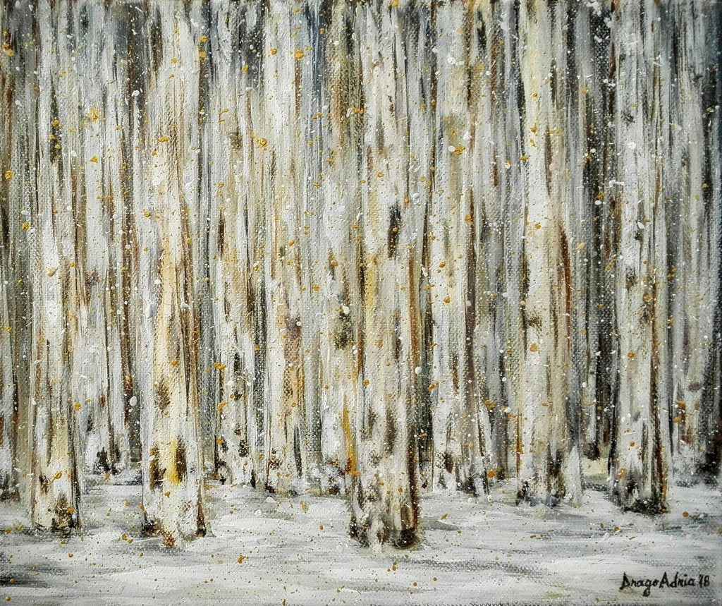 Forest In Winter by Adrianna Dragomir