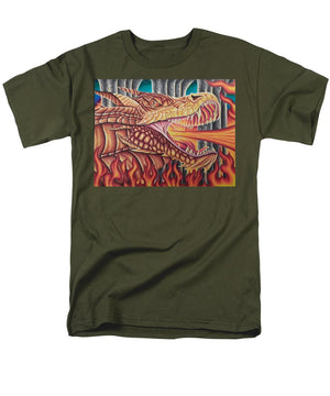 Dragon By Kyle Dunnuck - Men's T-Shirt  (Regular Fit)