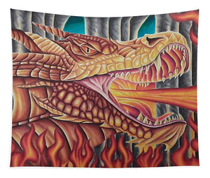 Dragon By Kyle Dunnuck - Tapestry