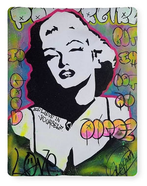 Marilyn Monroe By Yidah Expositox - Blanket