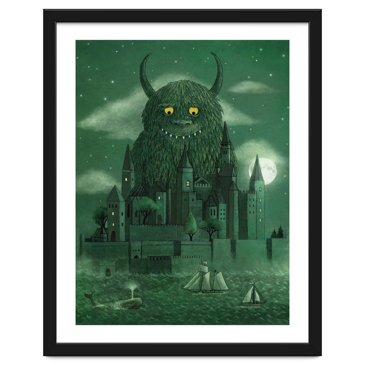 Age Of The Giants Art Print by Terry fan