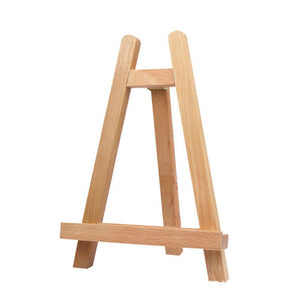 Small Tabletop Mini Wood Artist Frame Photo Painting Display Tripod A-frame Easel Art Supply