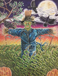 Scarecrow By Kyle Dunnuck - Art Print
