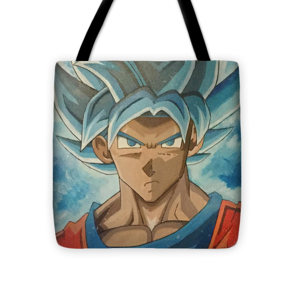Super Sayian Blue Goku - Tote Bag