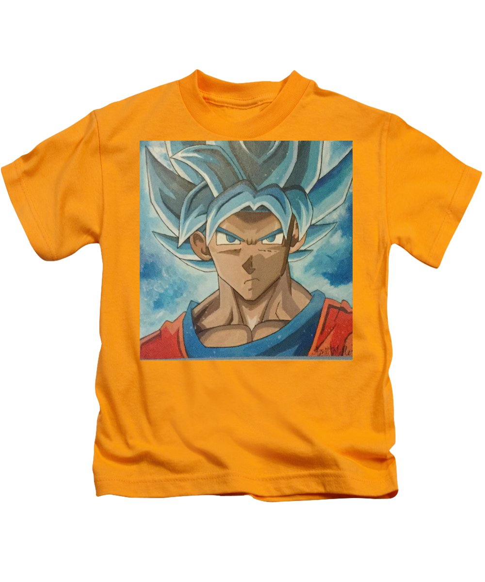 Super Sayian Blue Goku - Kids T-Shirt