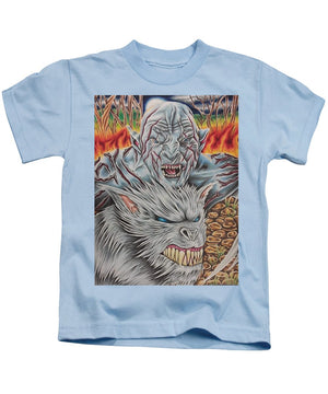White Orc By Kyle Dunnuck - Kids T-Shirt