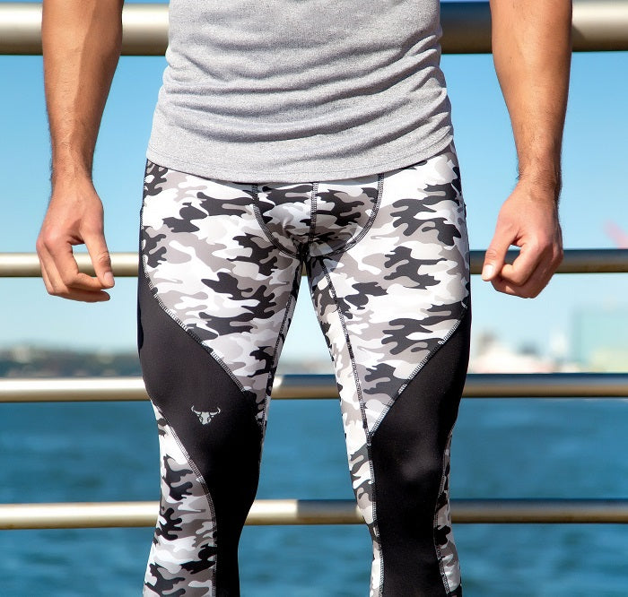 Black and White Camo Meggings