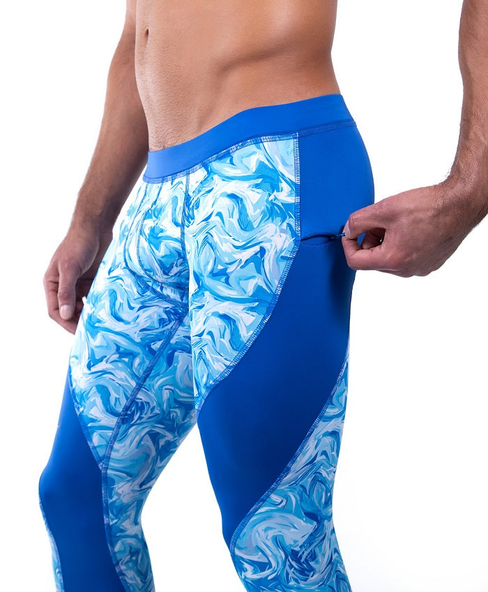 Blue Ocean Meggings