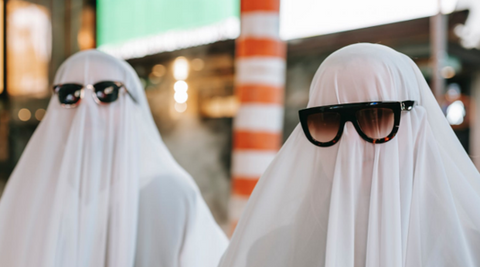 ghost costumes with glasses