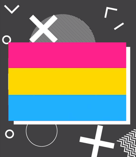 The Pansexual Pride Flag