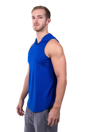 Hoodie Tank - Bright Blue - Matador Meggings