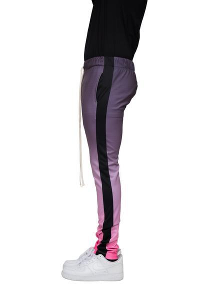 Charcoal/Pink Gradation Joggers - Matador Meggings