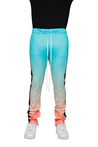 Mint/Coral Gradation Joggers - Matador Meggings