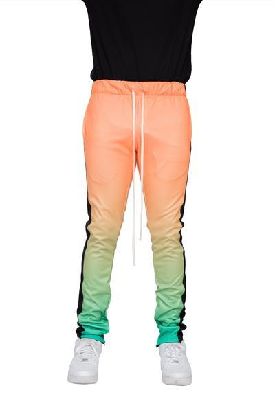 Orange/Green Gradation Joggers - Matador Meggings