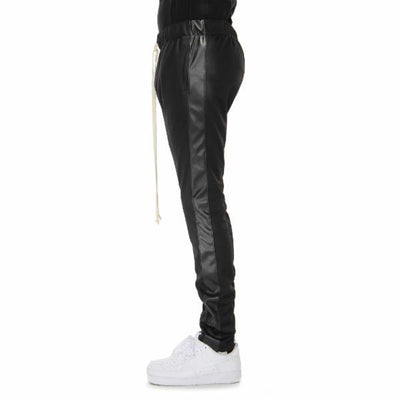 Black Metallic Joggers - Matador Meggings