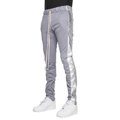 Silver Metallic Joggers - Matador Meggings