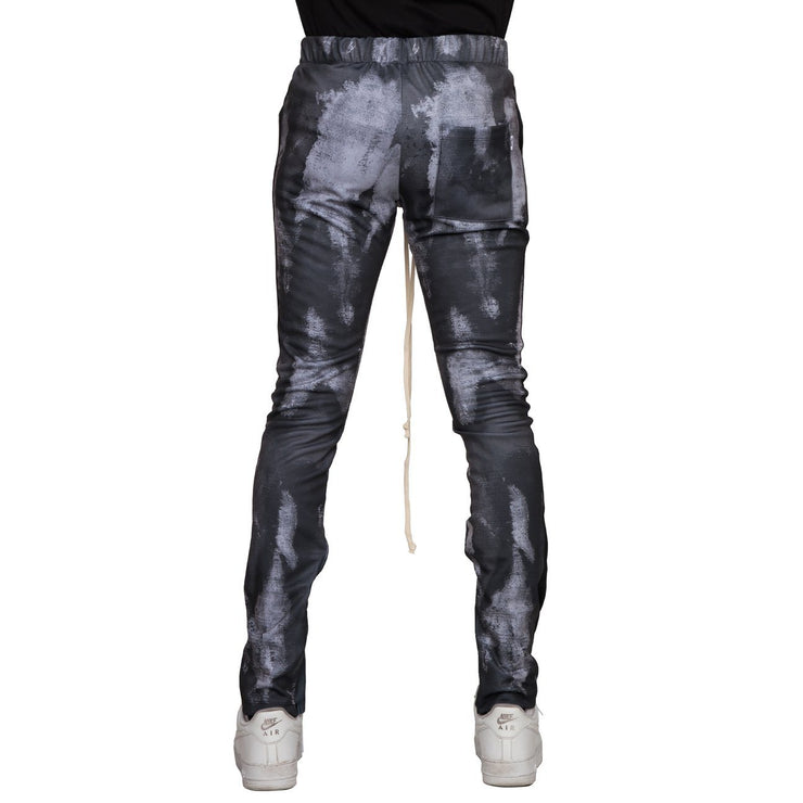 Gray Smoke Psycho Dye Joggers - Matador Meggings