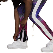 Purple Haze Psycho Dye Joggers - Matador Meggings
