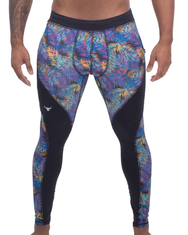 Neon Leaves - Matador Meggings
