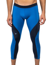 Blue/Navy Meggings (Low-Rise 3/4)
