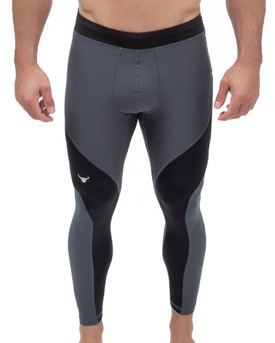 Gray/Black Meggings (Full)