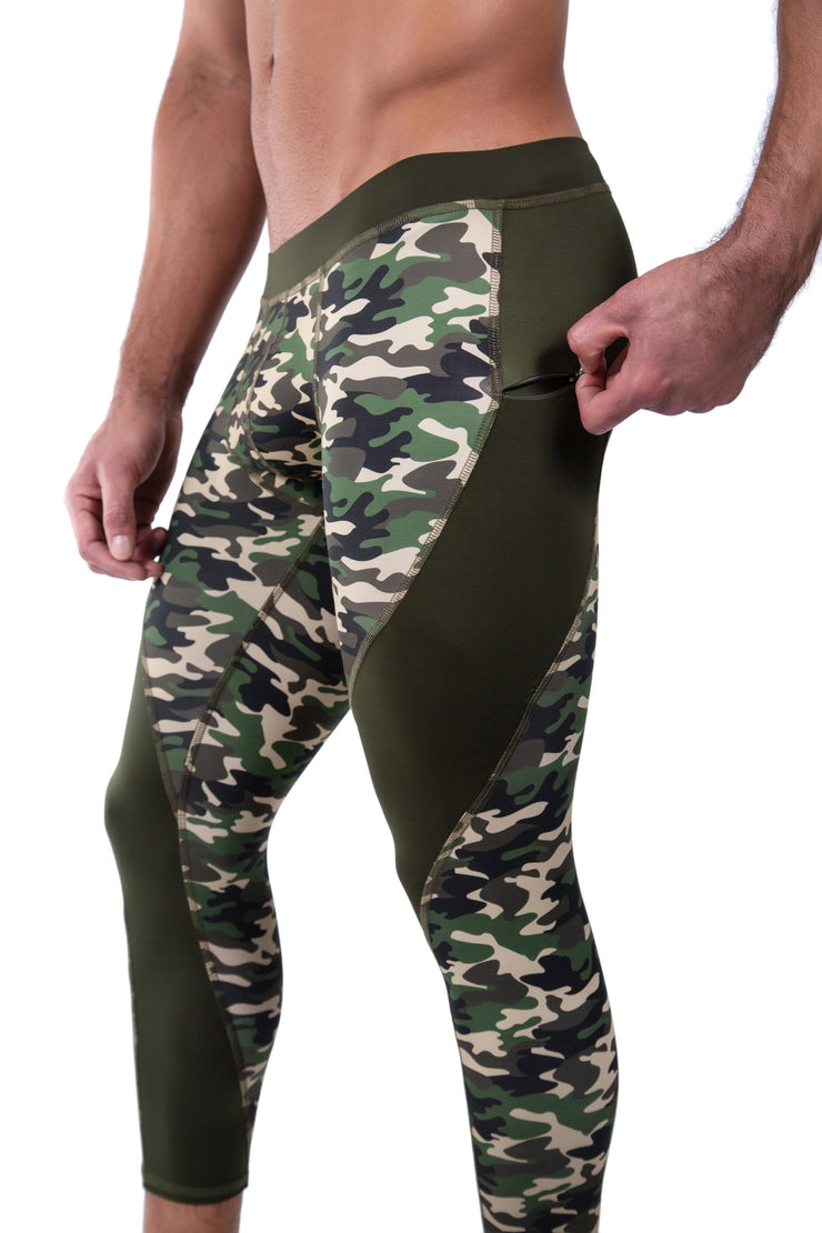Green Camo Meggings - Matador Meggings