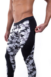 Gray Camo Meggings