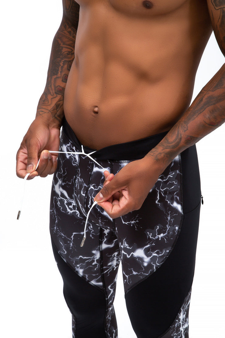 Black Thunder Meggings (Drawstring)