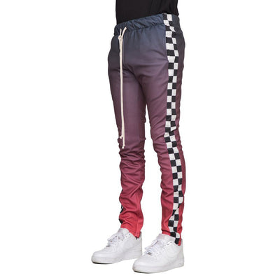 Black/Red Checker Joggers - Matador Meggings