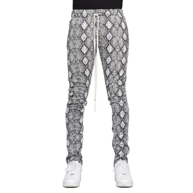 Snake Skin Soft Cotton Joggers - Matador Meggings