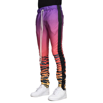 Purple/Orange Tiger Joggers - Matador Meggings