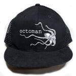 Octoman Hat Black