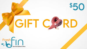 Open image in slideshow, Fresh Fin Digital Gift Cards
