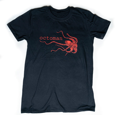 Octoman Shirt Black