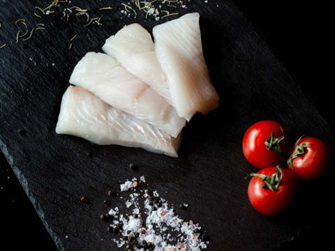 Wild Halibut Portions 8 oz (2 pieces)
