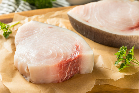 Wild Swordfish Steaks Portion 8 oz