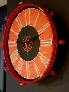 "22"" RUSH Bass Drum Clock"