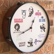 "Load image into Gallery viewer, 16"" Ultimate Soul To Rock N Roll Drum Clock"