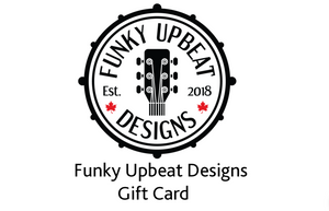 Funky Upbeat Designs Gift Card