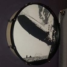 "Load image into Gallery viewer, 22"" Led Zeppelin 1 Drum Wall Art"