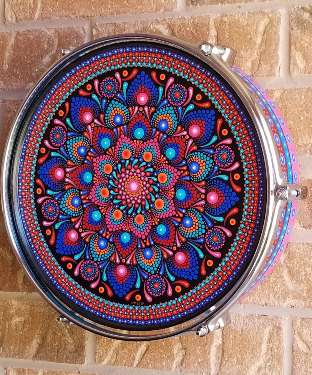 Design A Drum Collaboration- MANDALA LOVE AFFAIR