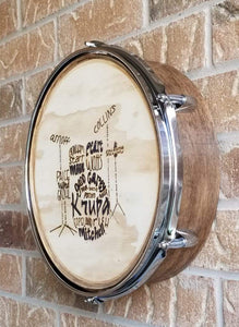 Design A Drum Collaboration- FIREART BY KATRIN
